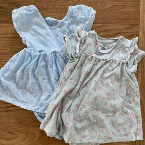 H&M 4-6 month dresses
